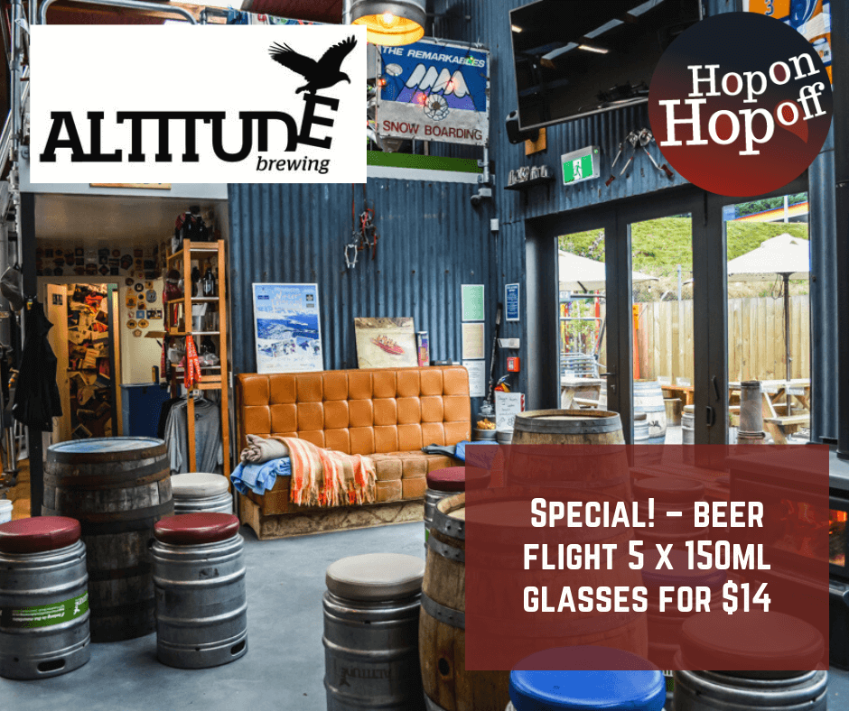 Altitude Brewing Special – 5 for $14