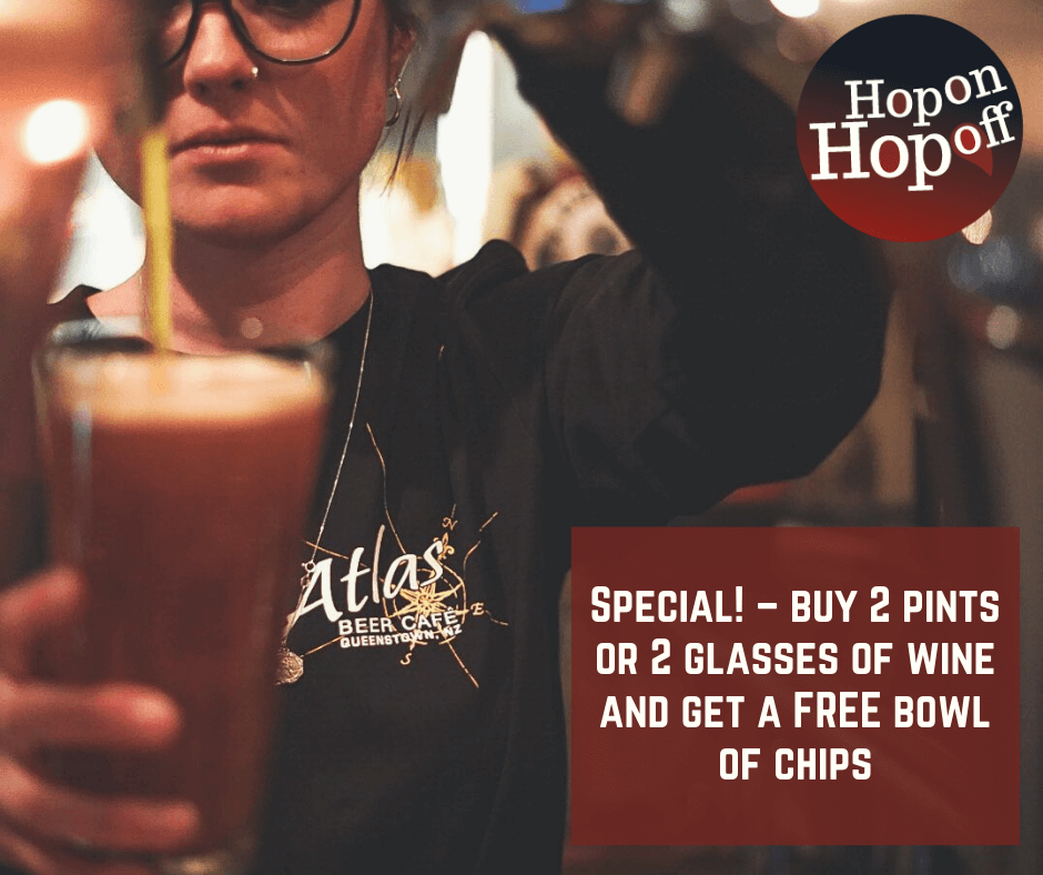 Atlas Beer Cafe Special – FREE bowl of chips