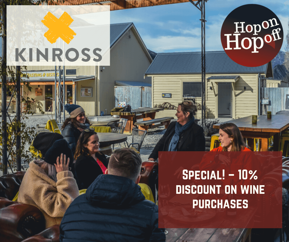Kinross Cellar Door & Bistro Special – 10% OFF
